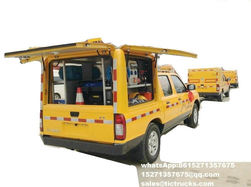 Camion 6.jpg de délivrance d'ingénierie d'ISUZU