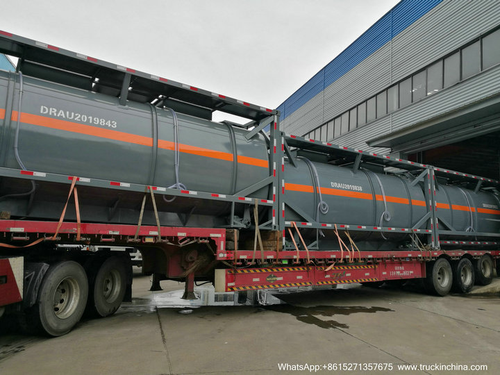 HCL Acid tank container iso52