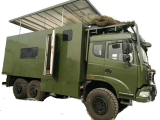 Troop Camping Truck 6x6 RV Truck Camper Troop Carrier