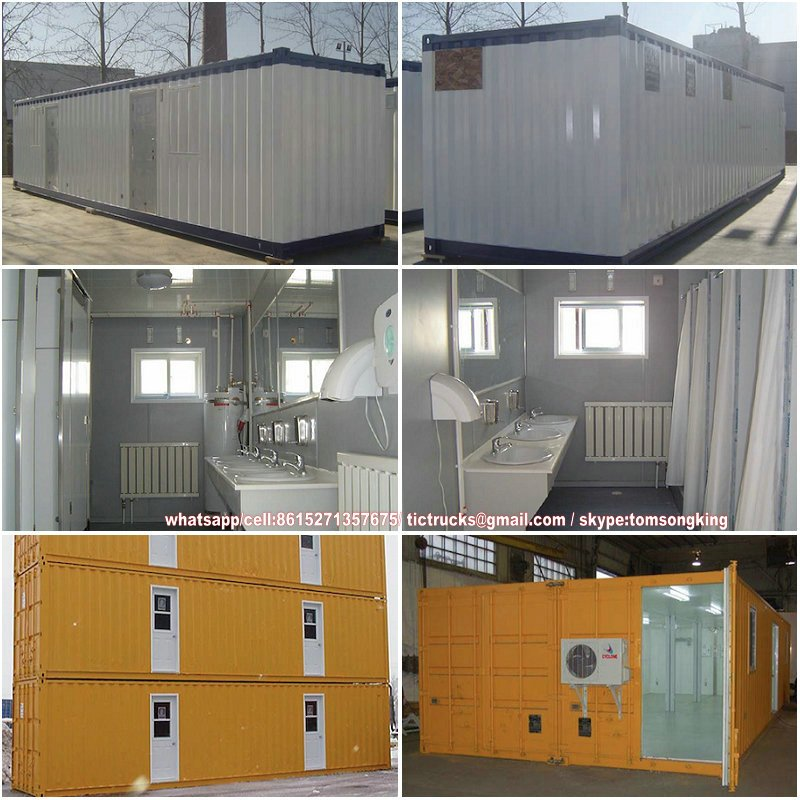 40ft ablution containers Portable bathrooms Features