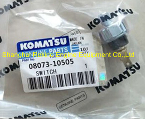 08073-10505 PC300-6 PC350-6 Komatsu 6D125 Oil pressure switch