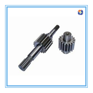 China Custom Auto Lathe Gear Shaft