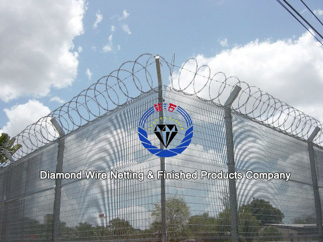 High Security Fence /Prison Security Fence