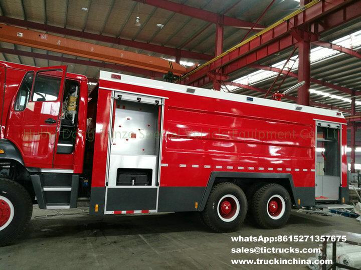 Beiben 2534 RHD fire truck -21T-offroad-6x6 allwheel drive