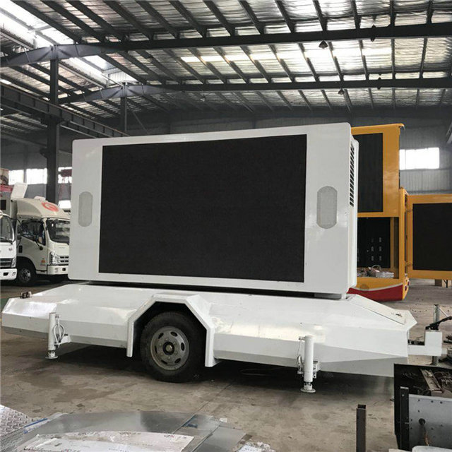 P6 LED Mobile Trailer Mounted Two sides LED Screen For Advertising
