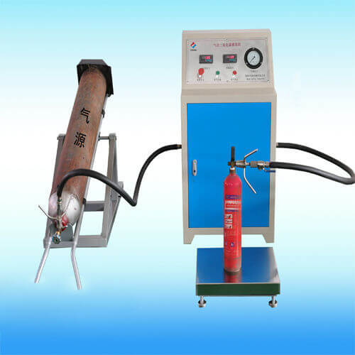 CO2 Filling Machine Pumping Carbon Dioxide Filler