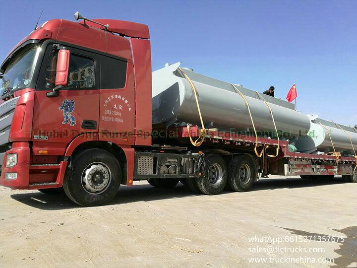 HCL Tank -34cbm-acid tank body