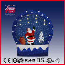 (40110F170-ST3-BB) Snowing Christmas Decorations with Frame-supported and Textile-decorated