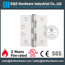 Stainless Steel 304 Two Ball Bearing Hinge for Wooden Fire rated Door with UL Listed-DDSS001