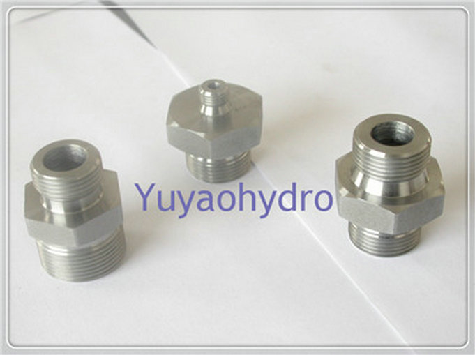 Din hydraulic male connector metric fittings