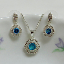 Flower Fashion Jewelry Set