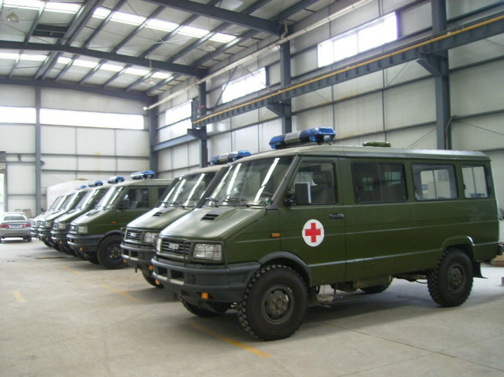 NJ2046SDD6 / NJ2045 IVECO 4WD Offroad Military AWD 4x4 Ambulance Mobile Clinic Vehicle