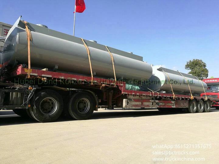 HCL Tank -26cbm-acid tank body