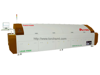Large-size lead-free Reflow Oven with Ten heating-zones A10N