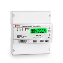 EM535-Mb 5(65)A three phase direct connected meter five modular din rail watt-hour meter 3 phase 4 wire energy meter mbus kwh meter