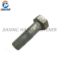 Gr 8.8, Gr10.9 Hot Dip Galvanized DIN 931 Hex Bolt with Half Thread