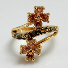 Flower Design Fashion Jewelry Ring