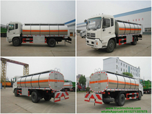 Dongfeng 4x2 Stainless Steel Ammonium Nitrate Solution Transport vehicle 50mm PUF Insulated