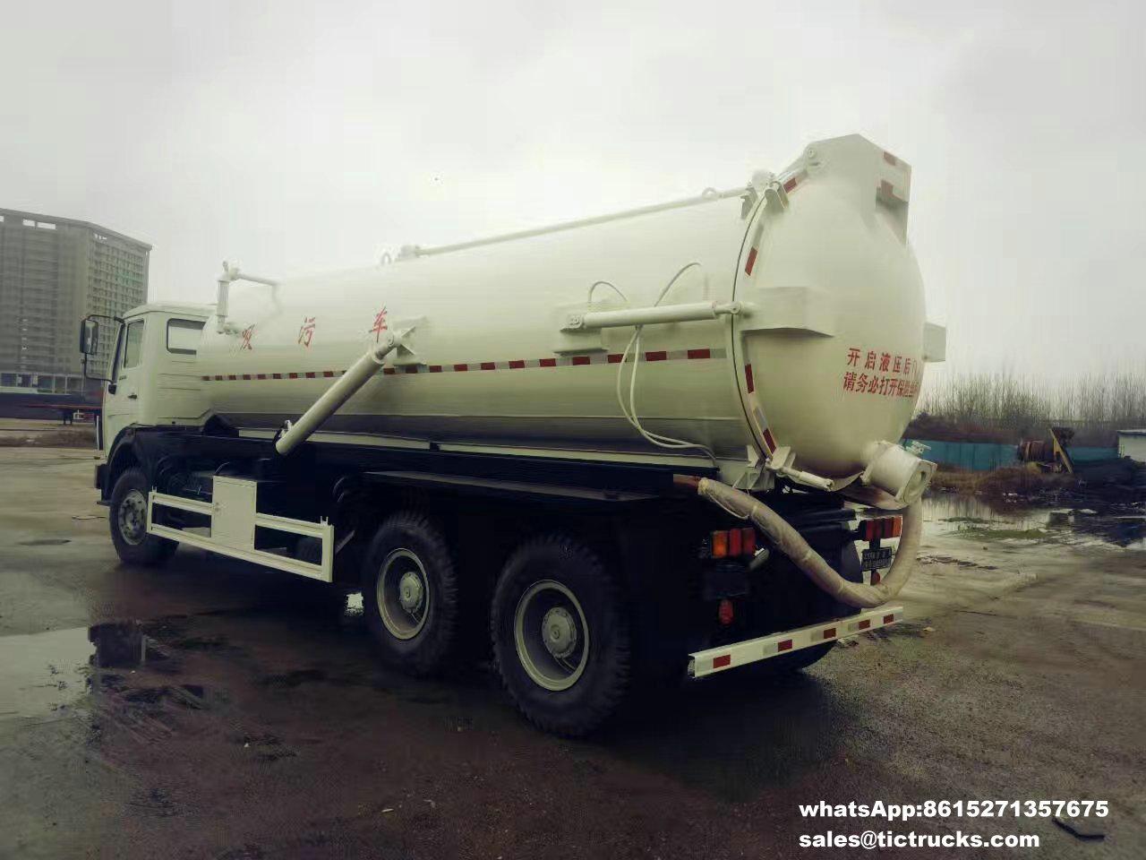 Camion -07_1.jpg d'eaux d'égout de vide de Beiben