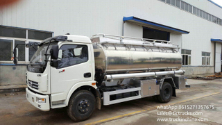 5250 Liters aluminium alloy petrol Refuel vehicle