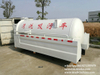 Sewer Jetting Truck Septic Tank with jetting water tank body