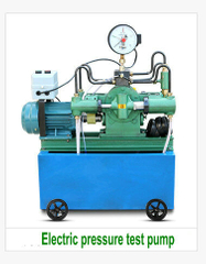 Electric Pressure Test Pump 4DSY25 40 63 100 160 MPa Pipeline Press Four-cylinder High-pressure PPR Water Pipe Pressure Measurement