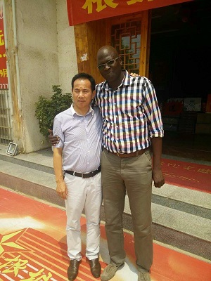 Senegal customer visited our company02.jpg