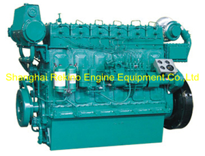 326HP 850RPM Weichai medium speed marine diesel engine (R6160ZC326-5)