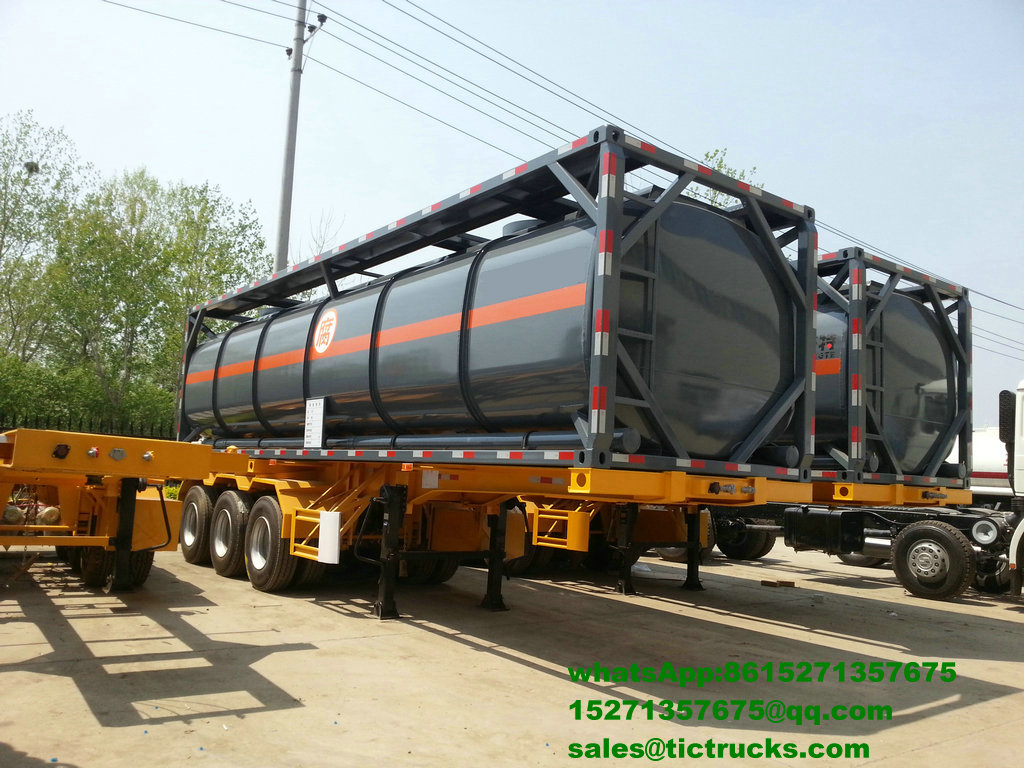 40ft acid tank container for HCL sale price