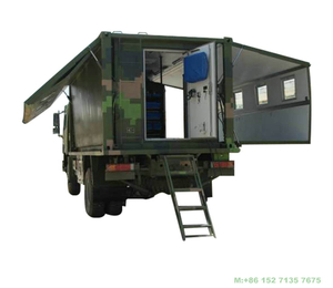 HOWO 4x4 Off Road Wild Expansion Maintenance Mobile Workshop Vehicle Customizing