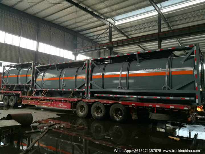 HCL Acid tank container iso48