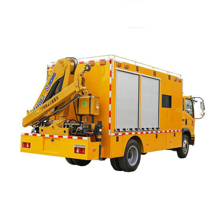 HOWO Emergency Rescue Vehicle with Crane For Engineering