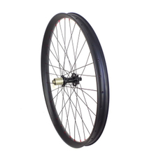 free shipping 29er plus wide MTB carbon wheels 50mm width with boost hub