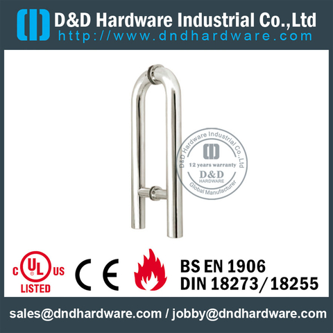 ANSI Standard Glass Couple Pull Handle -DDPH010