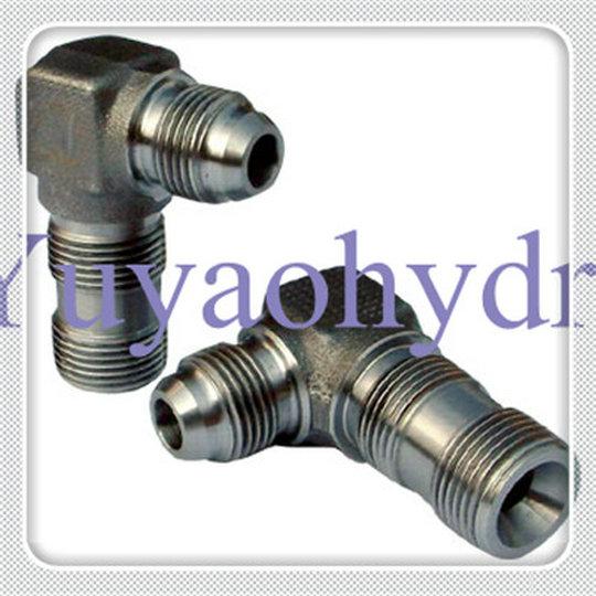 Hydraulic fittings metric thread deg flare cone