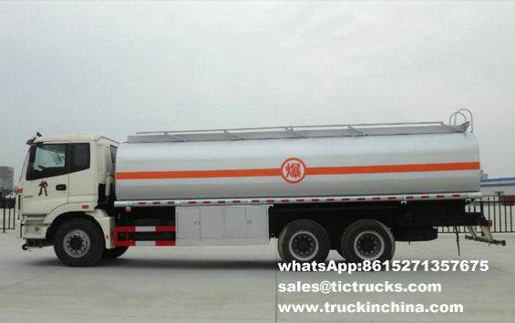 Camion 23CBM de pétrole lourd de Foton 6x4Foton