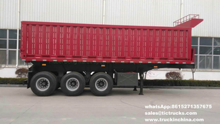 3 axle detachable container tipper trailer