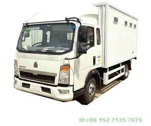HOWO Mobile Workshop Tool Service Trucks Customizing