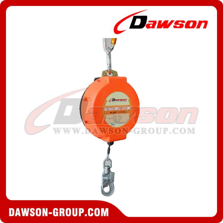 galvanized wire safety self retractable lifeline china manufacturer supplier factory