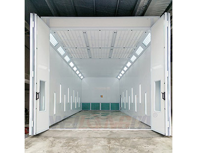 Semi Darft Spray Booth In Singapore