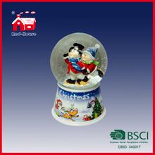 Snow Water Globe for Sale Snow Resin Snow Water Ball Merry Christmas Snow Globe