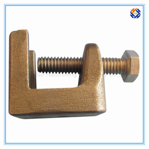 Stainless Steel Beam Clamp for Electric Industry, Investment Casting