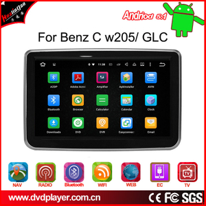 android 5.1 auto stereo  for C W205 / GLC  gps player OBD,DAB wifi connection
