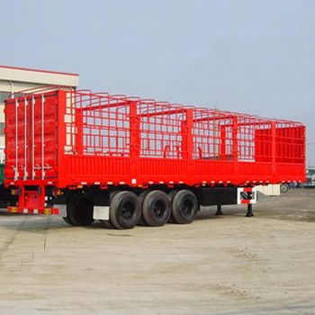 3 axles 50T stake transportation Truck semi trailer