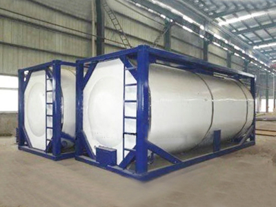 20FT ISO LNG Tanker Tank Container for Gas Transport with Csc Certificates