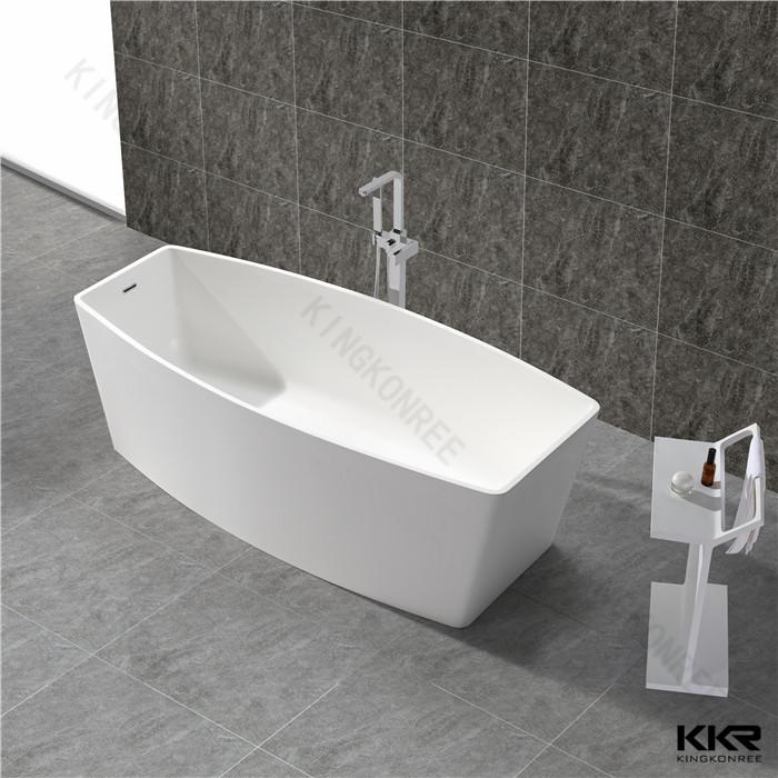 Faux Stone Solid Surface Bathtub KKR B049