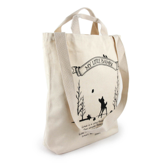 Wide Gusset Organic Grocery Tote
