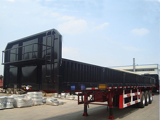 China Factory 3 Axle Sidewall Tractor Truck Semi Trailer for Sale