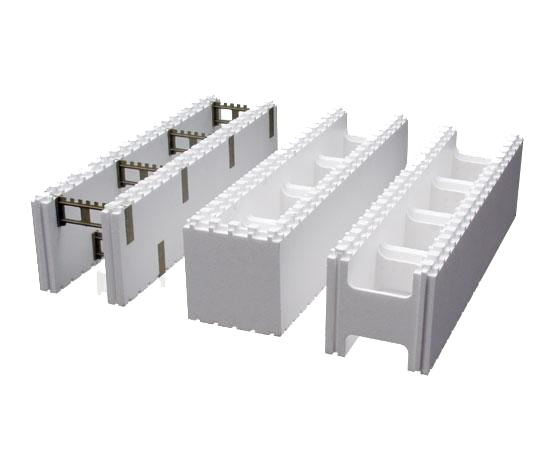 Efficient rapid energy saving building mode icf eps for Cement foam blocks