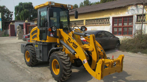 1200kg -ZL12 Mini Wheel Loader, Small Wheel Loader